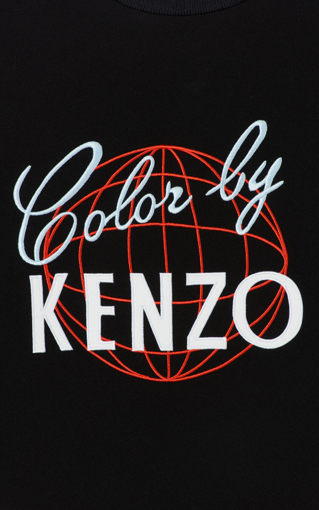 BLACK 'Color by KENZO' satin dress for women