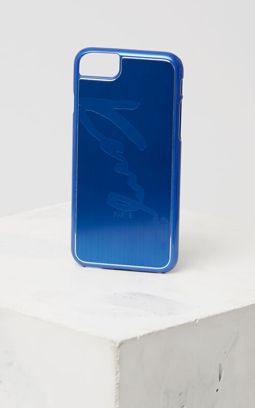 CYAN KENZO Signature iPhone 7+/8+ case for unisex
