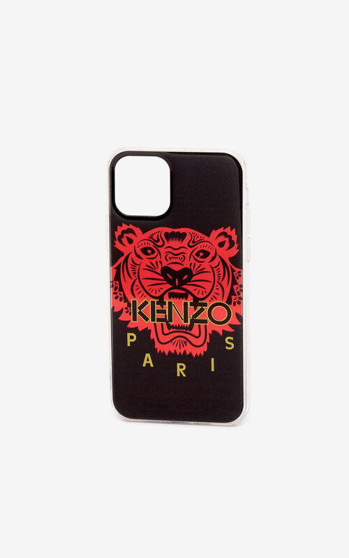 BLACK 'Chinese New Year Capsule' iPhone XI Pro case for unisex KENZO