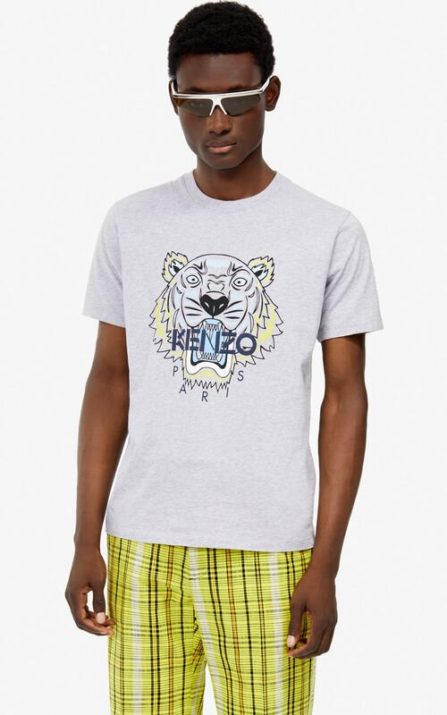 a639d9034d PEARL GREY Tiger t-shirt for men KENZO ...
