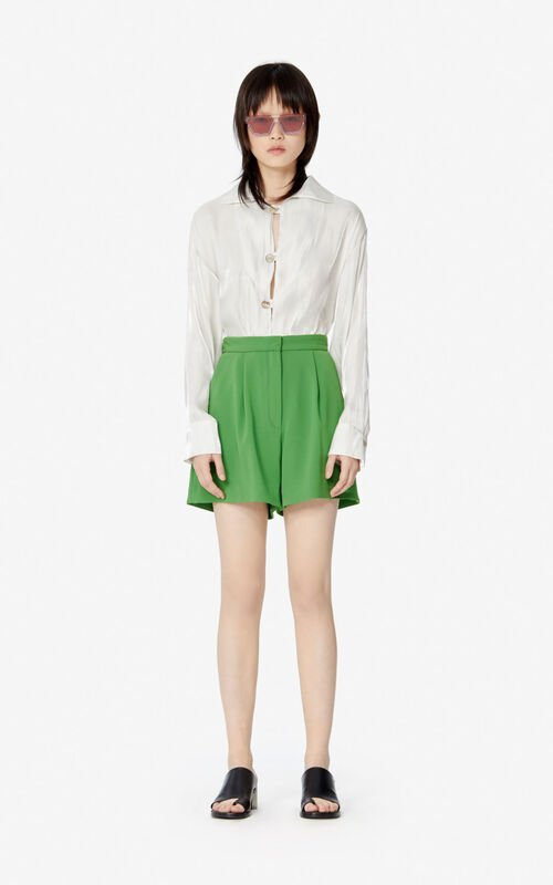 LIME Pleated shorts for women KENZO