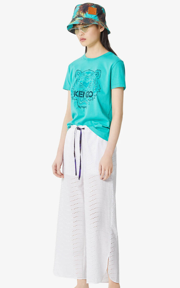 WHITE 'High Summer Capsule Collection' culottes for women KENZO
