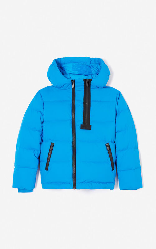 FRENCH BLUE Quilted puffa jacket for women KENZO ... 7b53fffff377