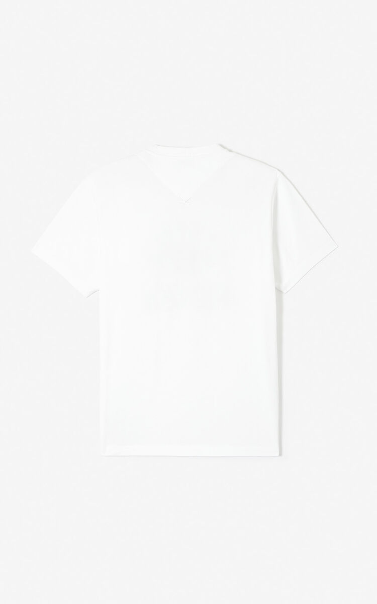 WHITE 'I ❤ KENZO' T-shirt for men