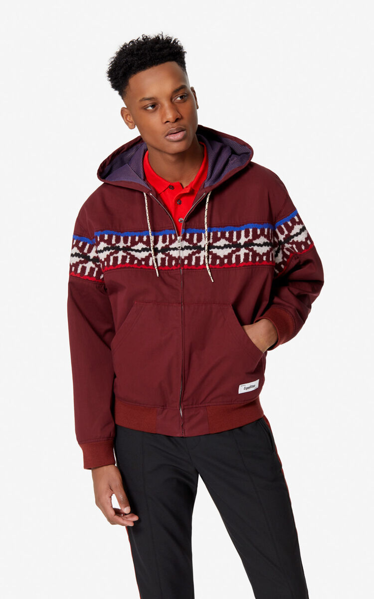 BORDEAUX 'Expedition' jacket for men KENZO