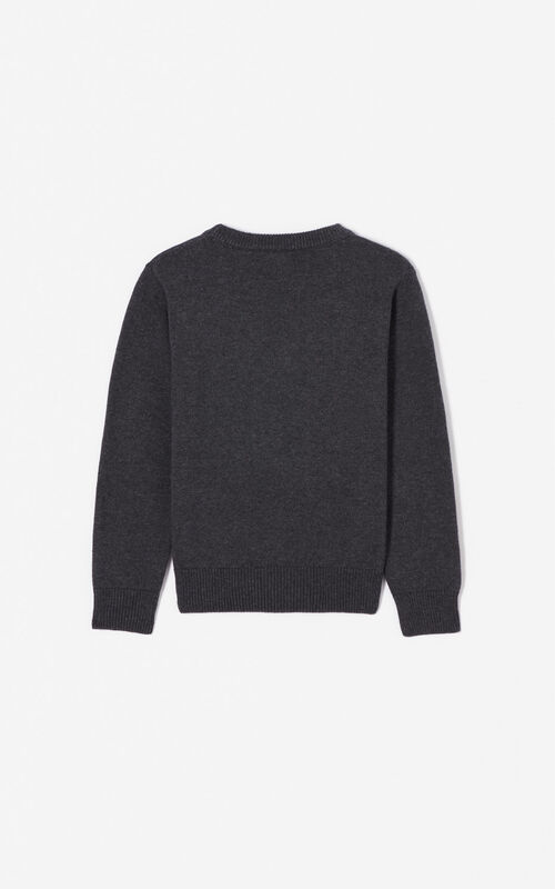 DARK GREY KENZO Paris 'Cosmic' jumper for women