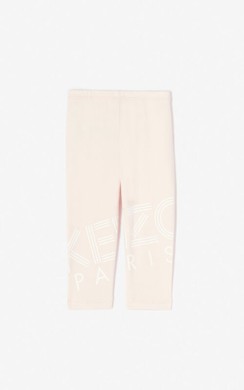 FADED PINK KENZO Logo leggings for women
