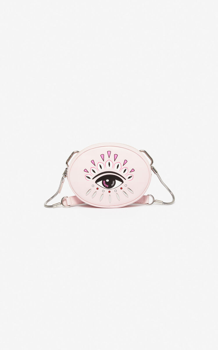 PASTEL PINK Kontact Eye belt bag for unisex KENZO