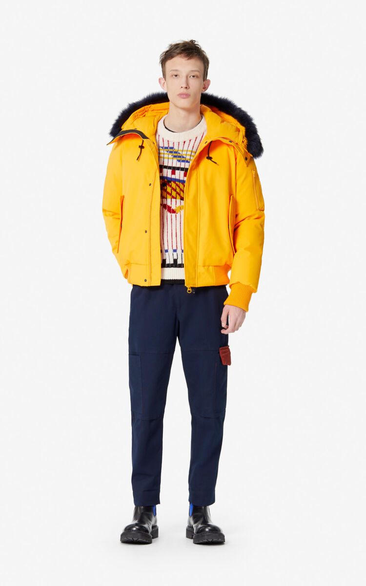 MARIGOLD Short parka jacket for men KENZO