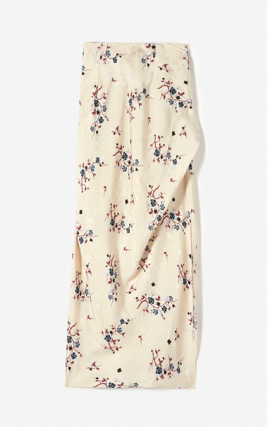 SAND 'Cheongsam Flower' draped skirt for women KENZO