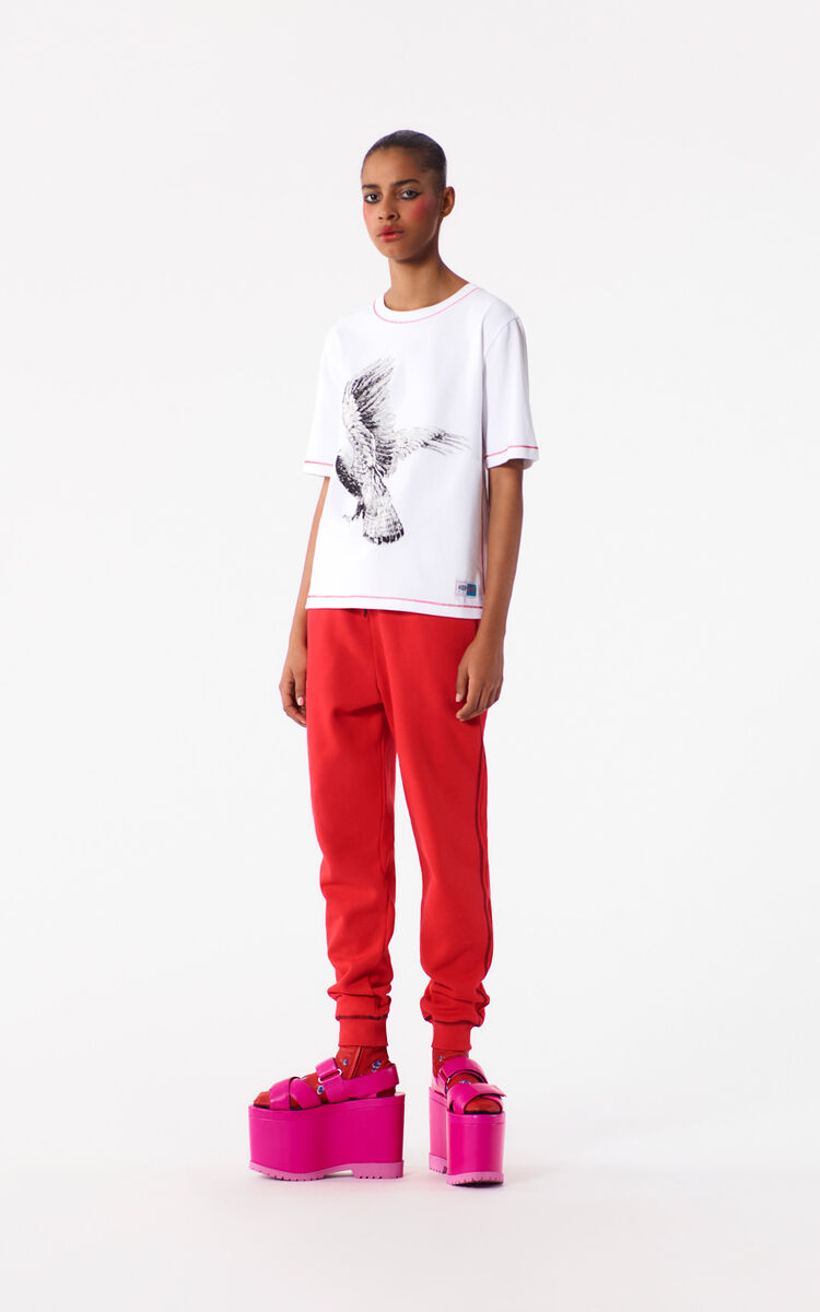 MEDIUM RED Sweat Pant for women KENZO