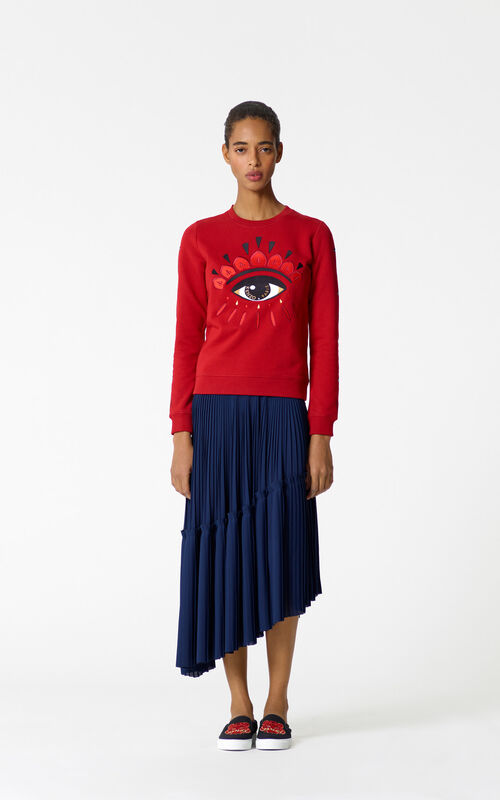 CHERRY 'Chinese NY Capsule Collection' Eye Sweatshirt for women KENZO