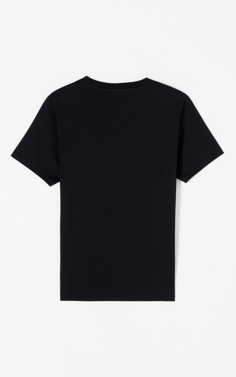 BLACK 'Holiday Capsule Collection' KENZO Paris T-shirt for men