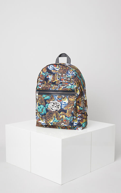 MULTICOLOR Flying Tiger Backpack for unisex KENZO