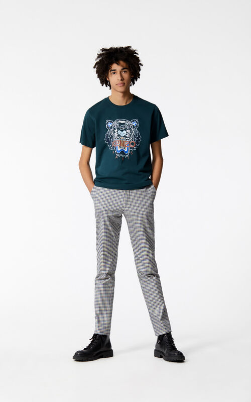 PINE Tiger t-shirt for men KENZO