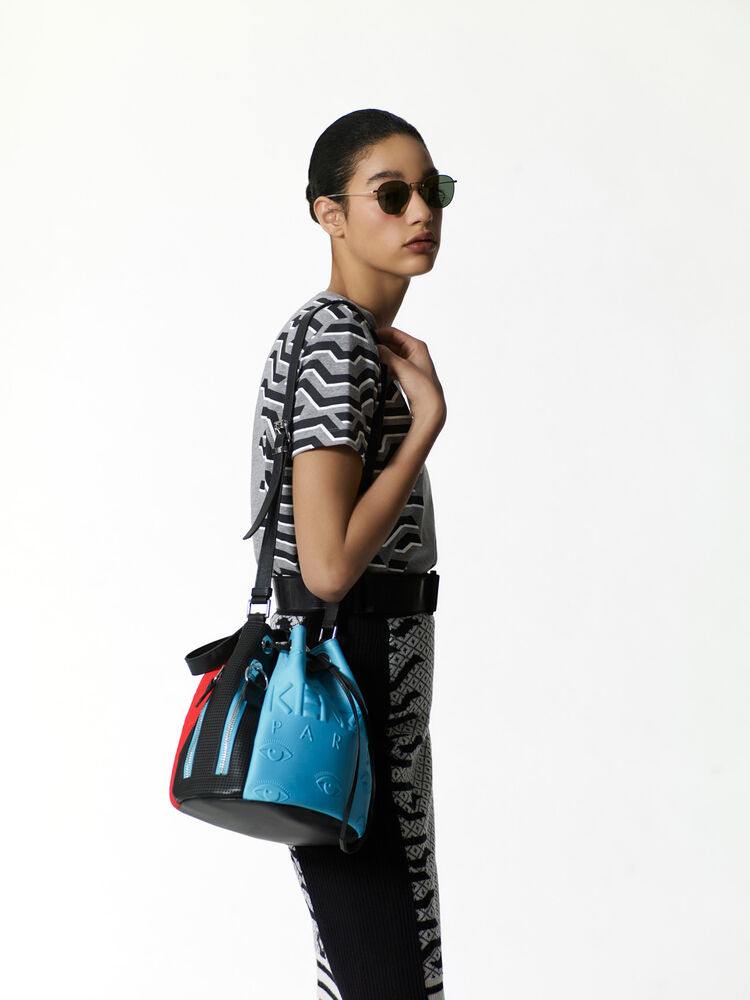 TURQUOISE KENZO Kombo bucket bag for women