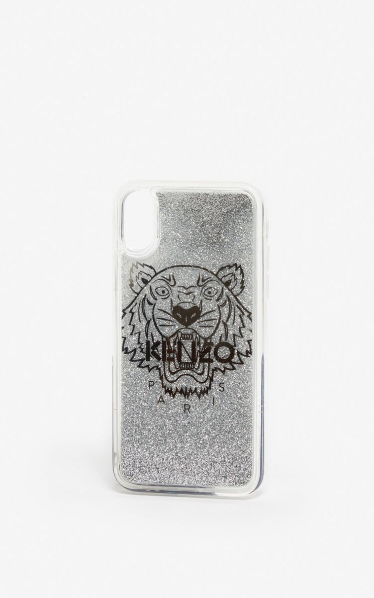 SILVER iPhone X/XS Case for unisex KENZO