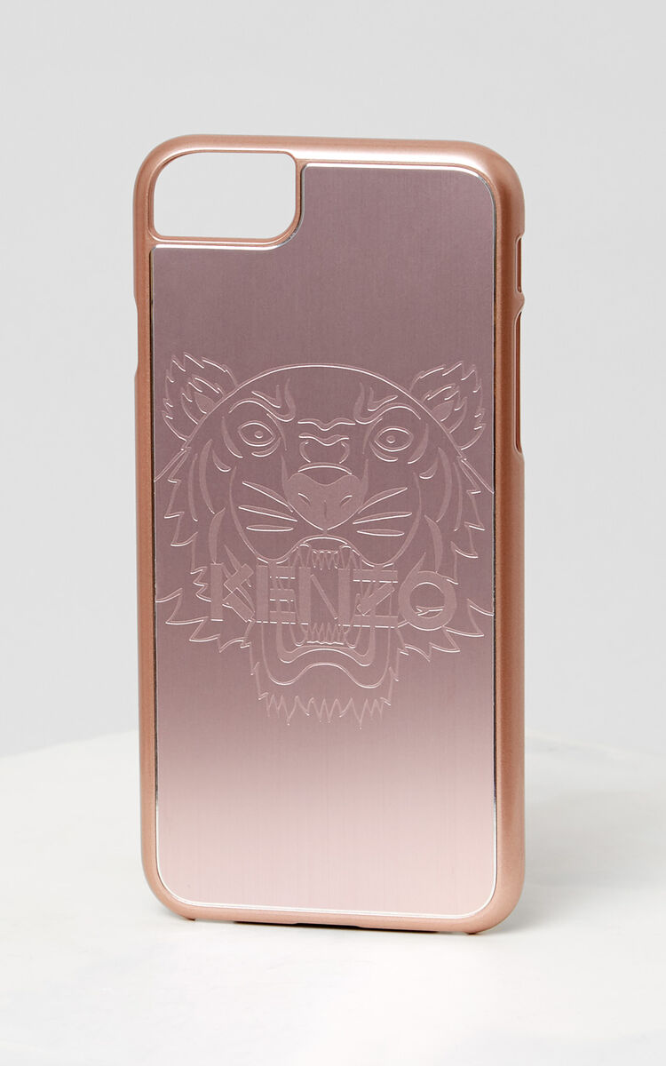 PASTEL PINK Tiger iPhone 7/8 case for women KENZO