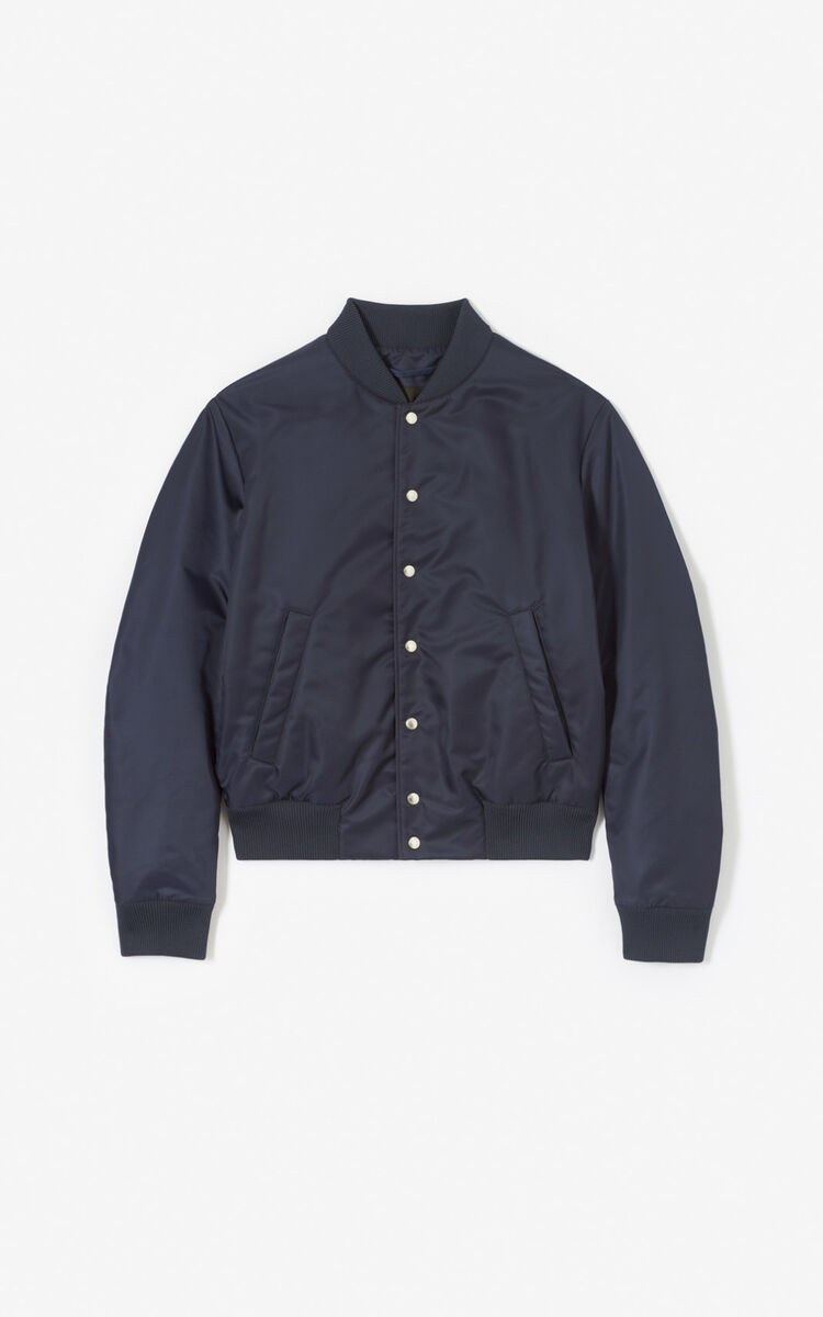 NAVY BLUE Tiger Bomber Jacket for men KENZO