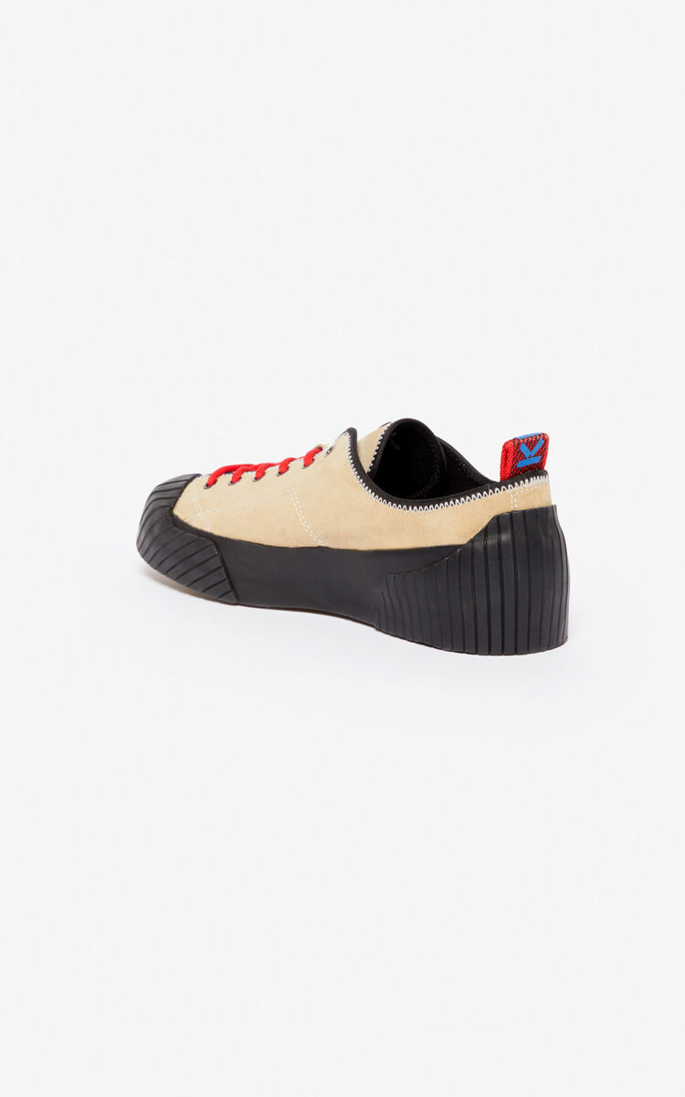 PALE CAMEL Volkano sneakers for unisex KENZO