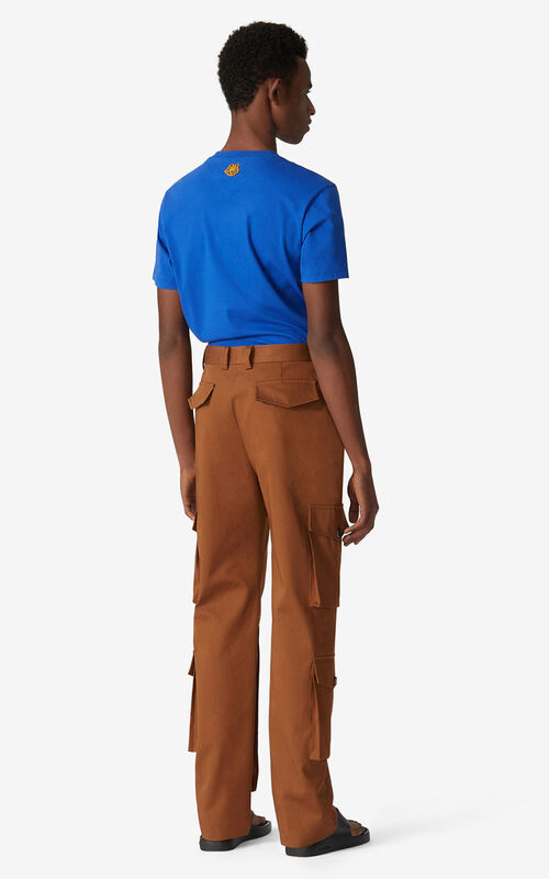 MOROCCAN BROWN Cargo trousers for women KENZO
