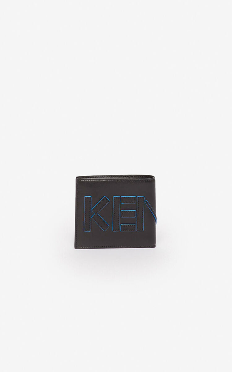 BLACK Kontrast wallet for unisex KENZO