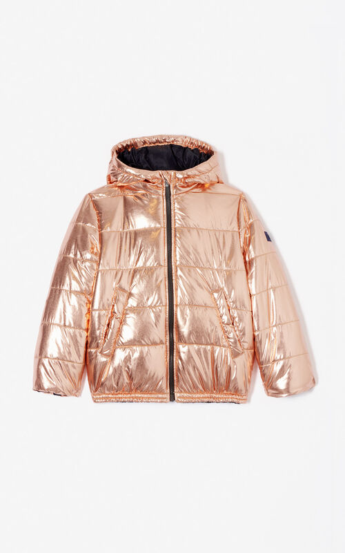 COPPER 'Cosmic' quilted puffa jacket for women KENZO