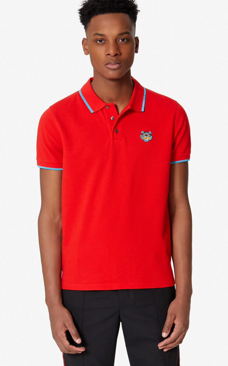 4abe6ea2b Tiger Crest Polo for MEN Kenzo | Kenzo.com