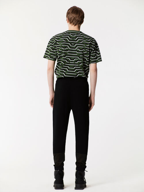 BLACK Casual Knitted Pants for men KENZO