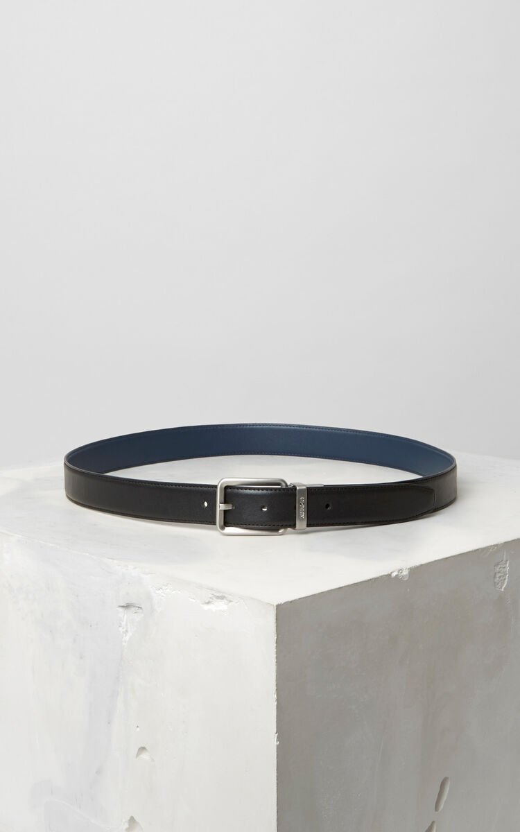INK Reversible leather Belt for men KENZO