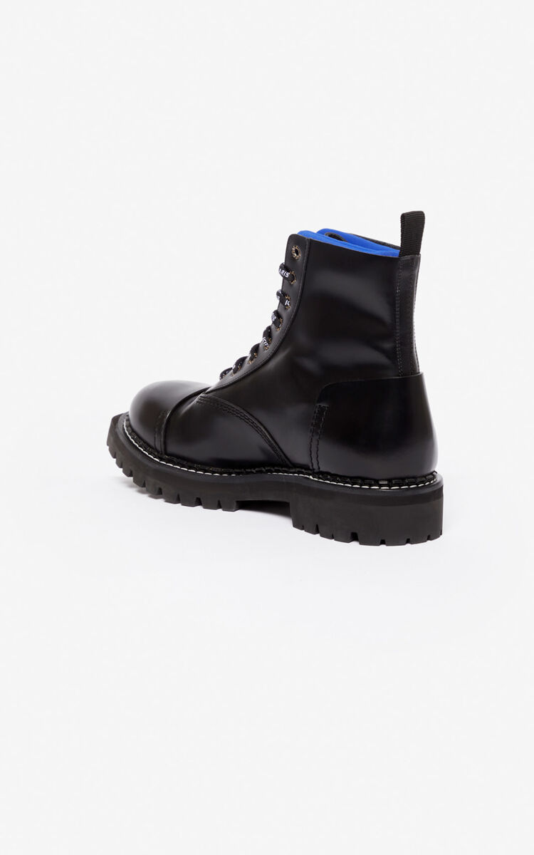 SLATE BLUE Kamden boots for men KENZO