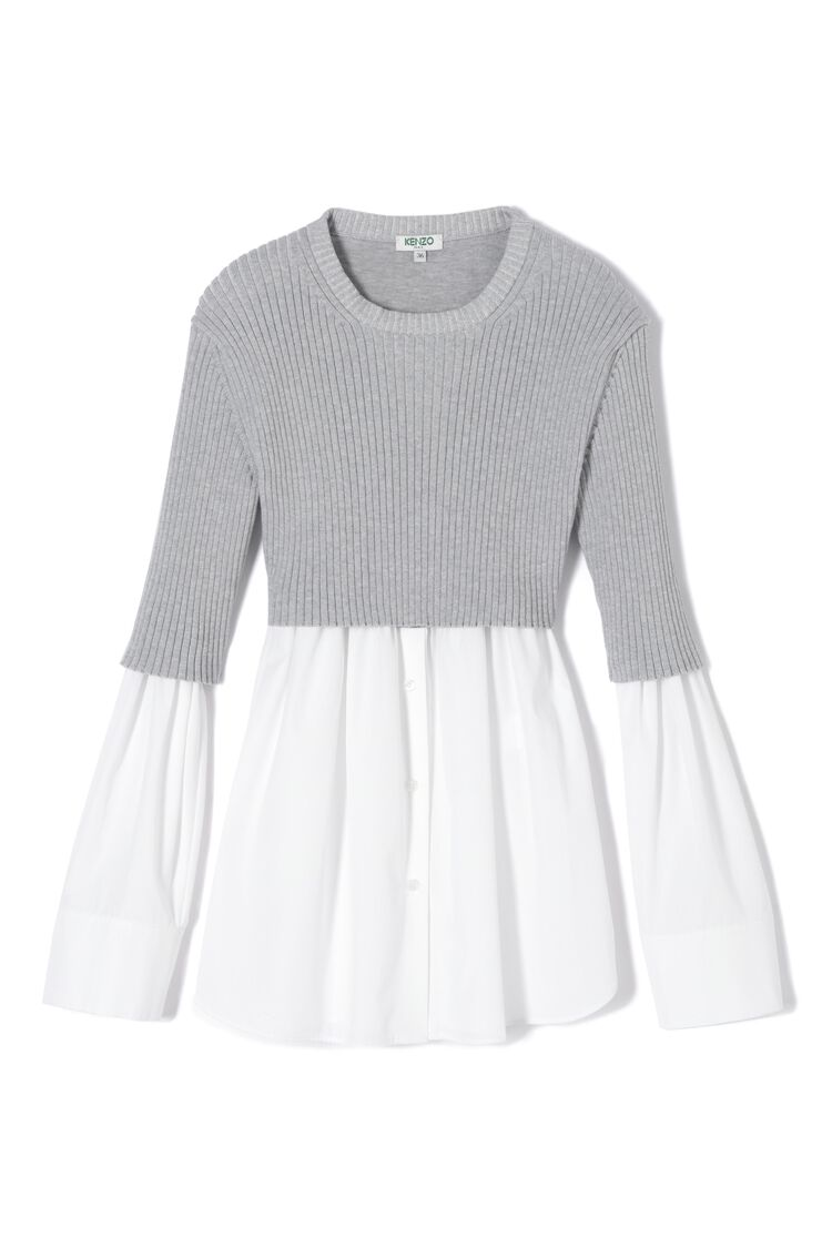 WHITE Shirt jumper for women KENZO