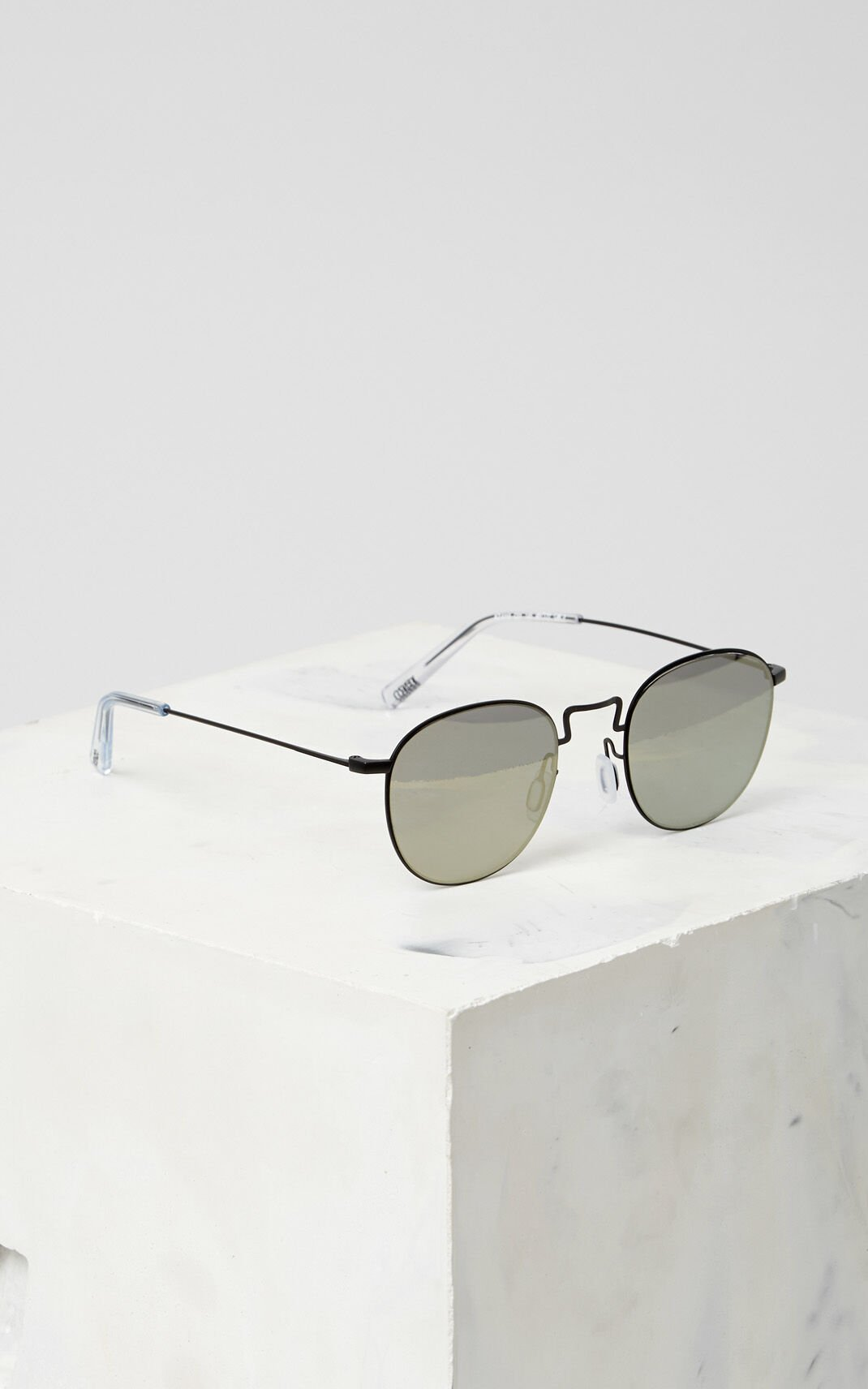 BLACK Flat Lens 'Knox' Sunglasses for unisex KENZO