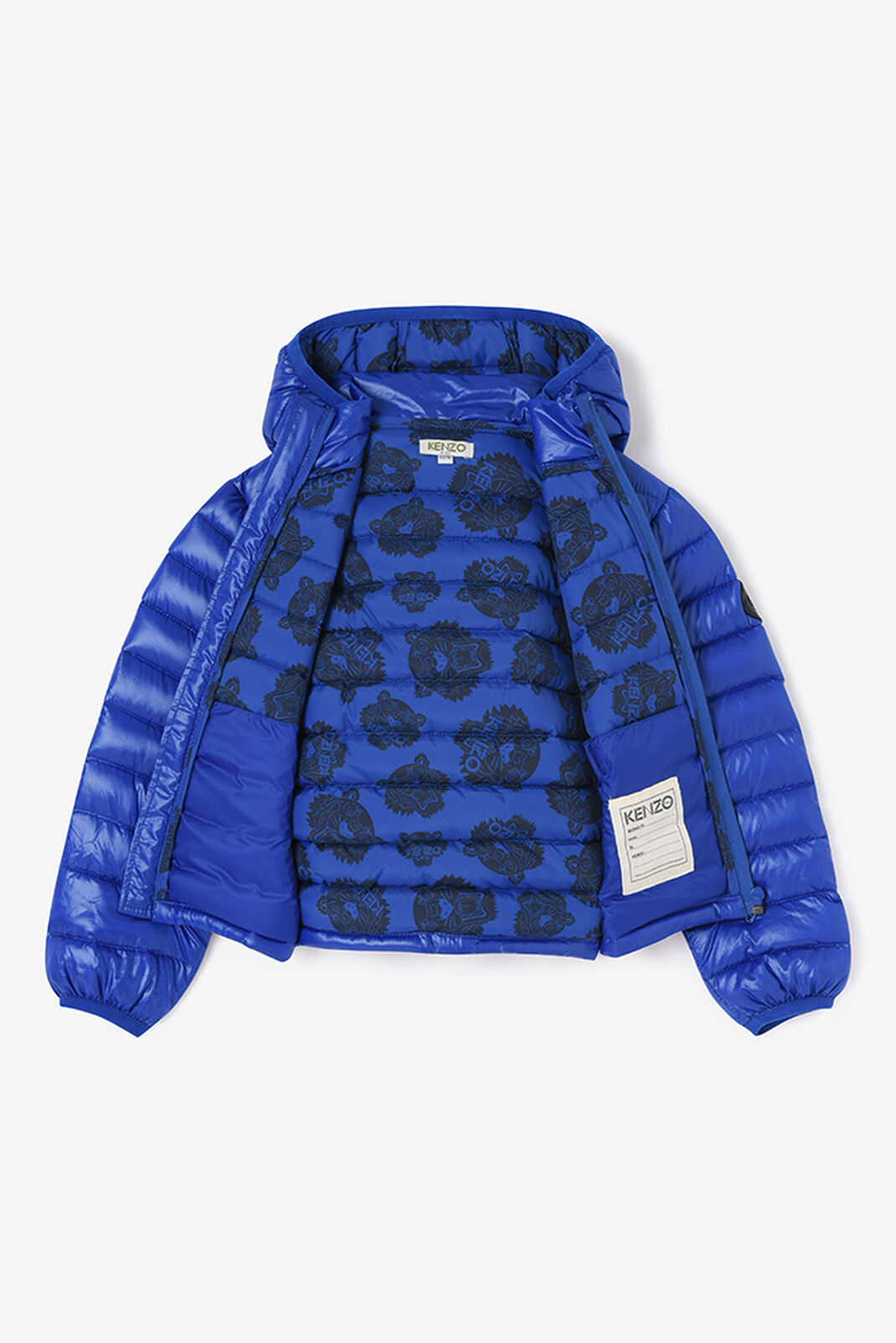 ROYAL BLUE Lightweigth quilted jacket for women KENZO