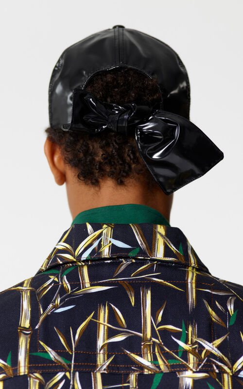 BLACK 'Bamboo Tiger' baseball cap for men KENZO