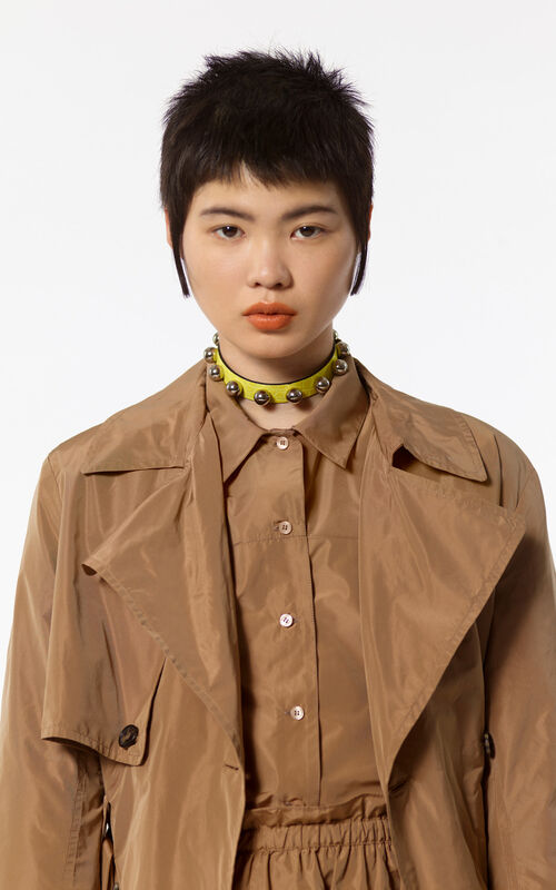 CHESTNUT Oversized trench for women KENZO