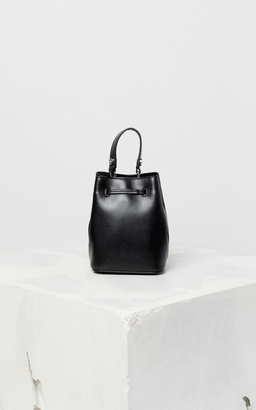 BLACK Eye bucket bag for unisex KENZO