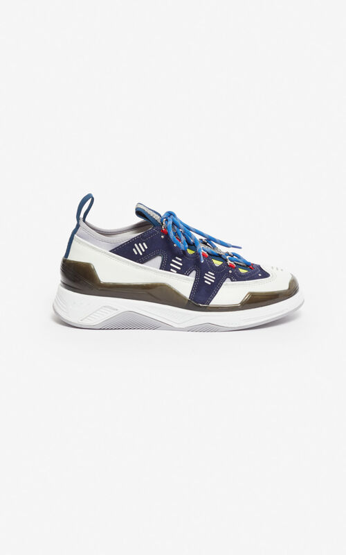 MIDNIGHT BLUE Klimb sneakers for unisex KENZO