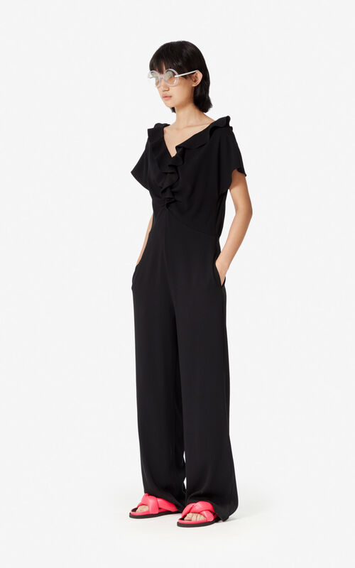 BLACK Jumpsuit for women KENZO