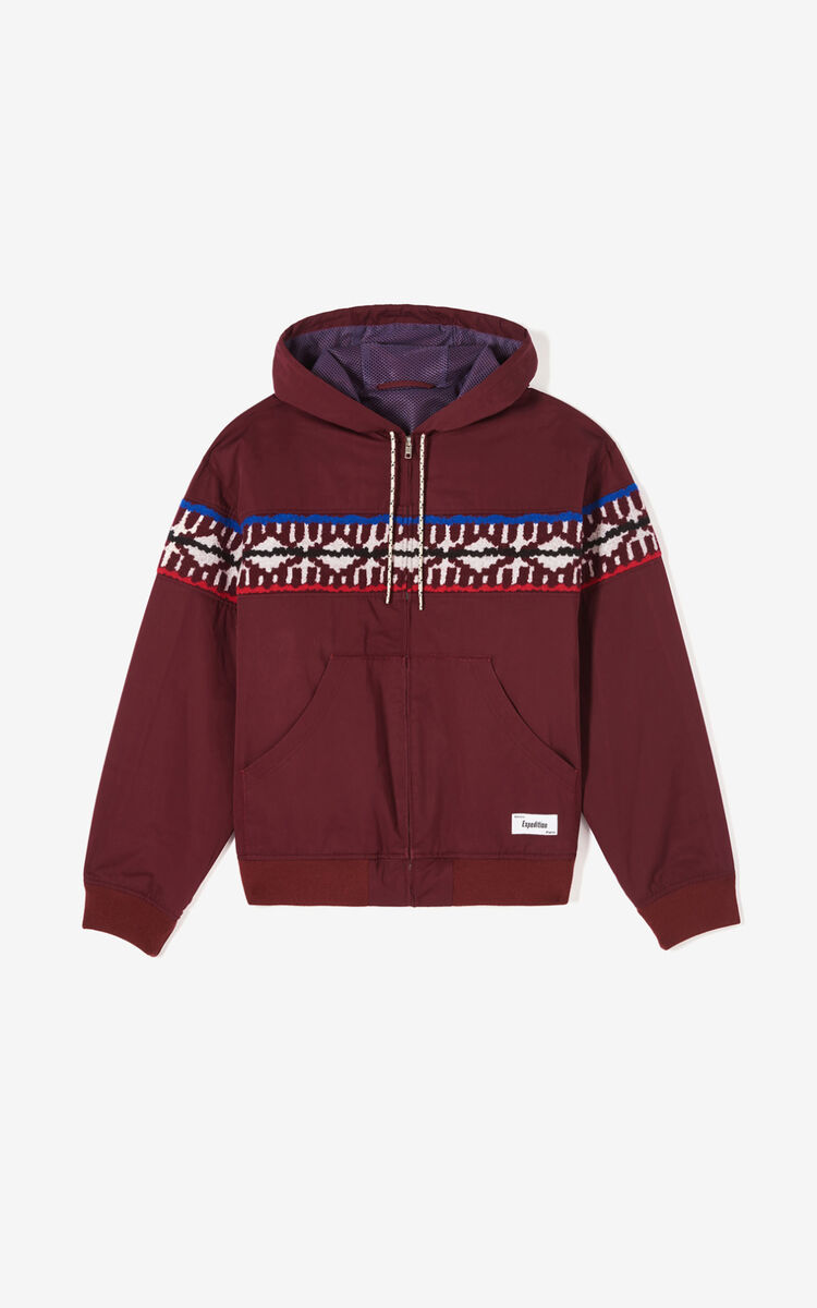 BORDEAUX 'Expedition' jacket for women KENZO