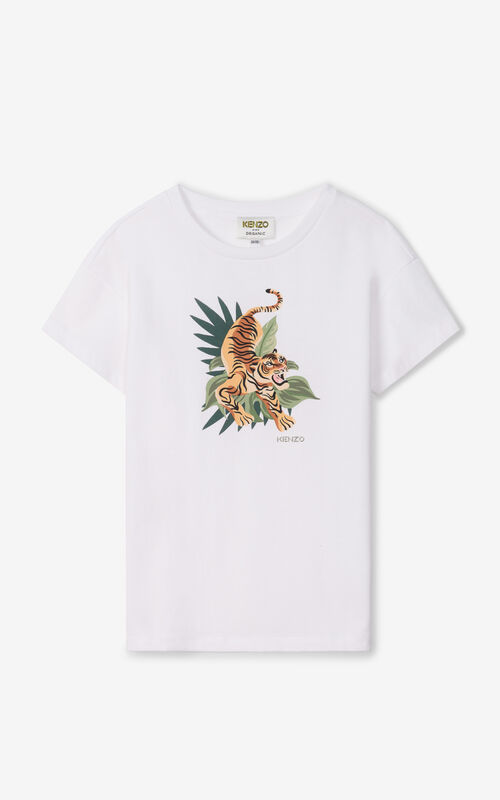 OFF WHITE 'Jumping Tiger' loose t-shirt for men KENZO