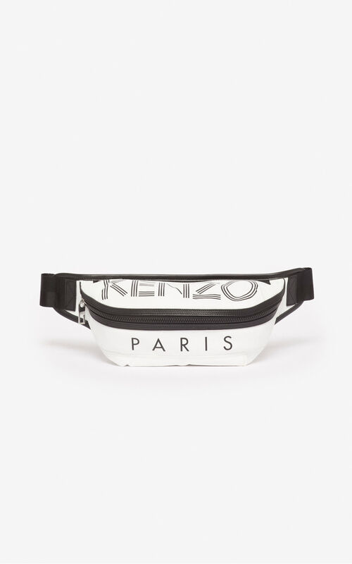 OFF WHITE KENZO Logo bumbag for unisex