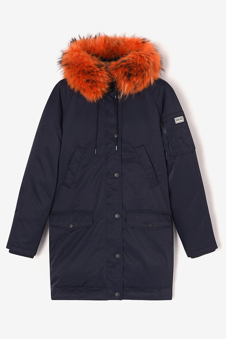 MIDNIGHT BLUE Puffa' Parka for women KENZO