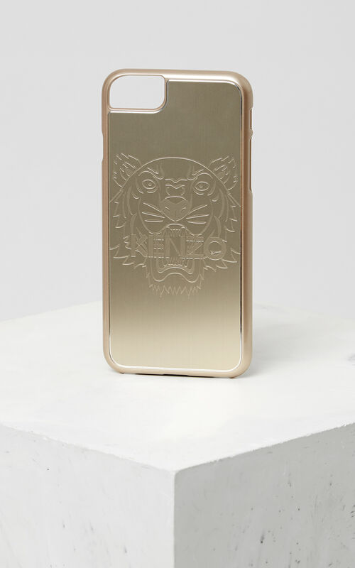 GOLD iPhone 7+/8+ Tiger Case for unisex KENZO