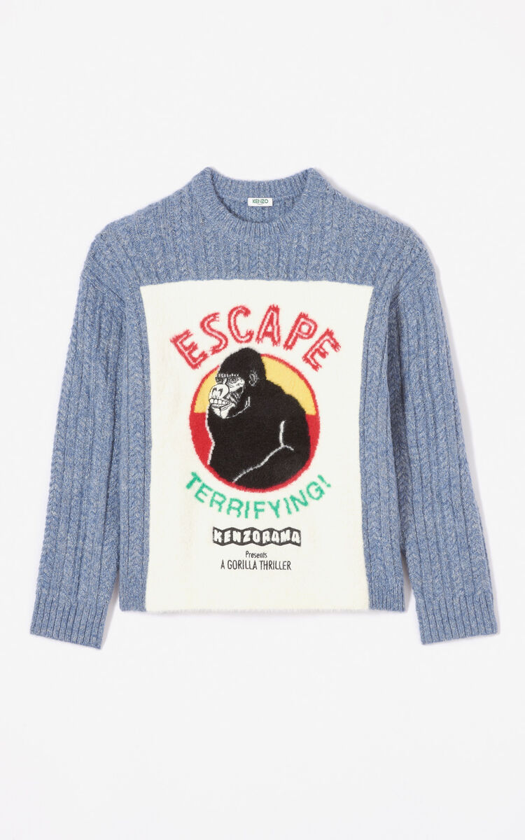 ANTHRACITE 'Escape' jumper for men KENZO