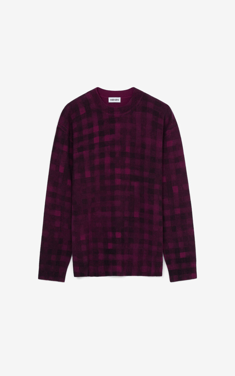 Pull 'Ghost check' CASSIS homme KENZO