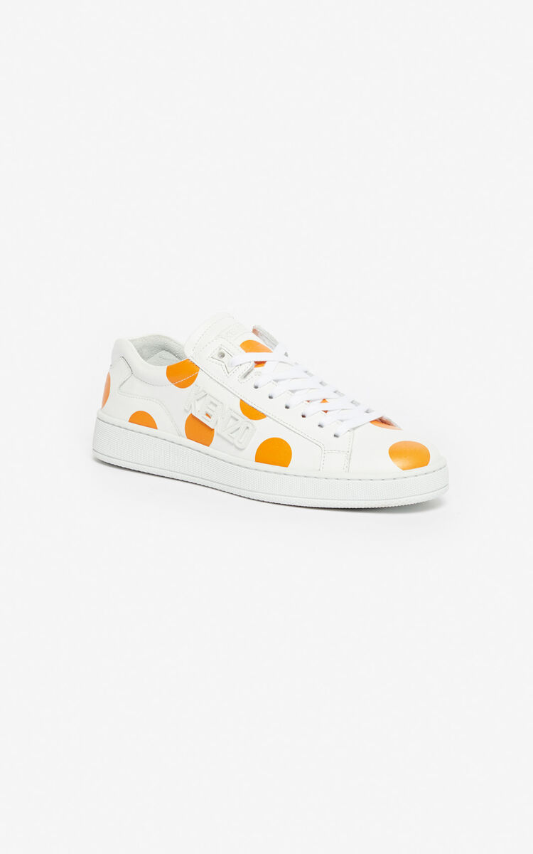 DEEP ORANGE 'Dots' Tennix sneakers 'High Summer Capsule collection' for unisex KENZO