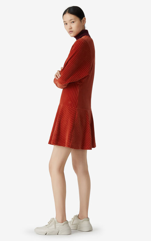 SUEDE Corduroy dress for women KENZO