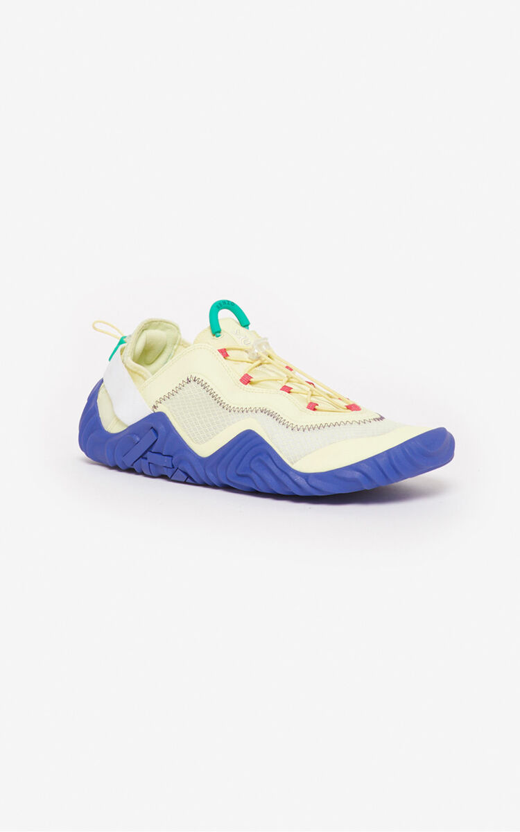 IVORY Wave sneakers for unisex KENZO