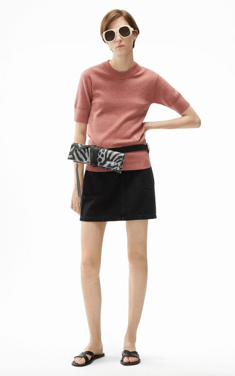 FADED PINK Tiger Crest jumper for women KENZO